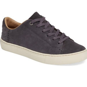 LIKE NEW TOMS Size 6 Grey Suede Lenox Sneaker